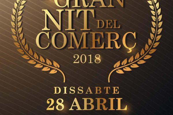 Cartel Gran Noche del comerç de Paterna